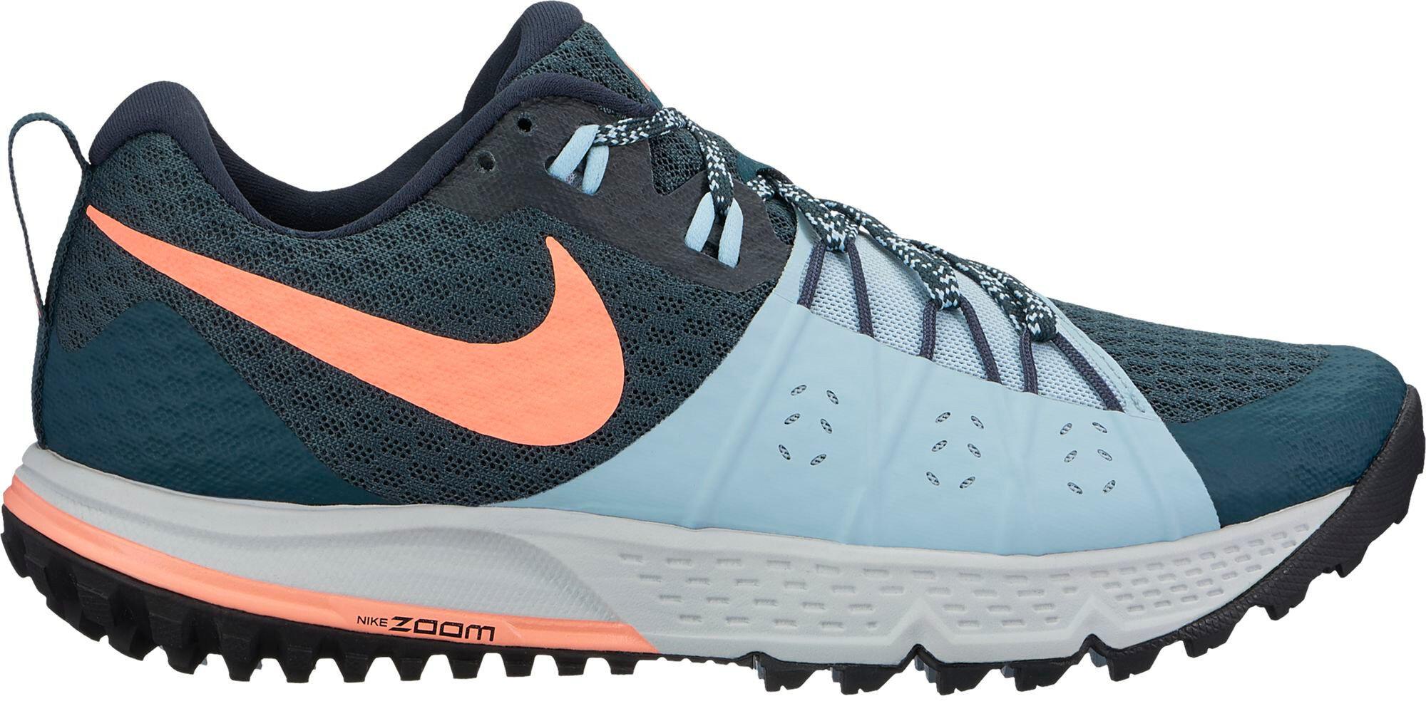 nike air zoom wildhorse 4 running shoes women blue at